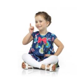 Meia-Calça Infantil Fio 70 Legging Colors Lupo