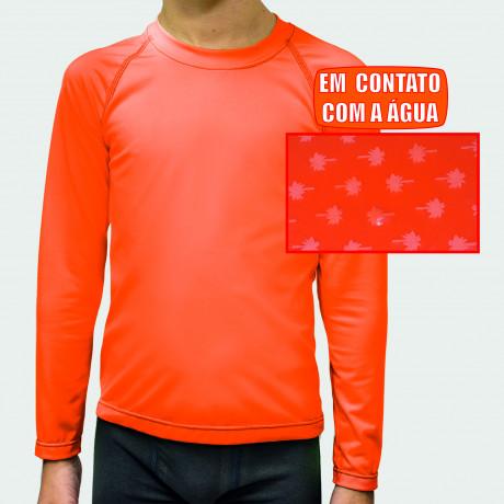 Camiseta Infantil Proteção UV Urban Class M