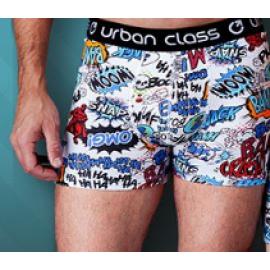 Cueca Boxer Cotton Estampada Urban Class